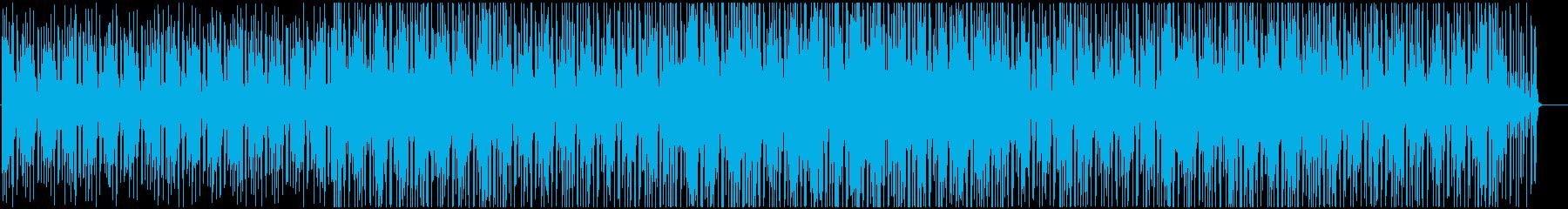 ゆったりボサノバの再生済みの波形