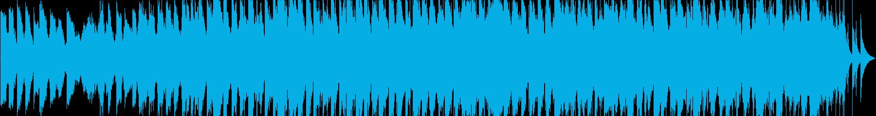 アンビエント風のJpopバラードの再生済みの波形