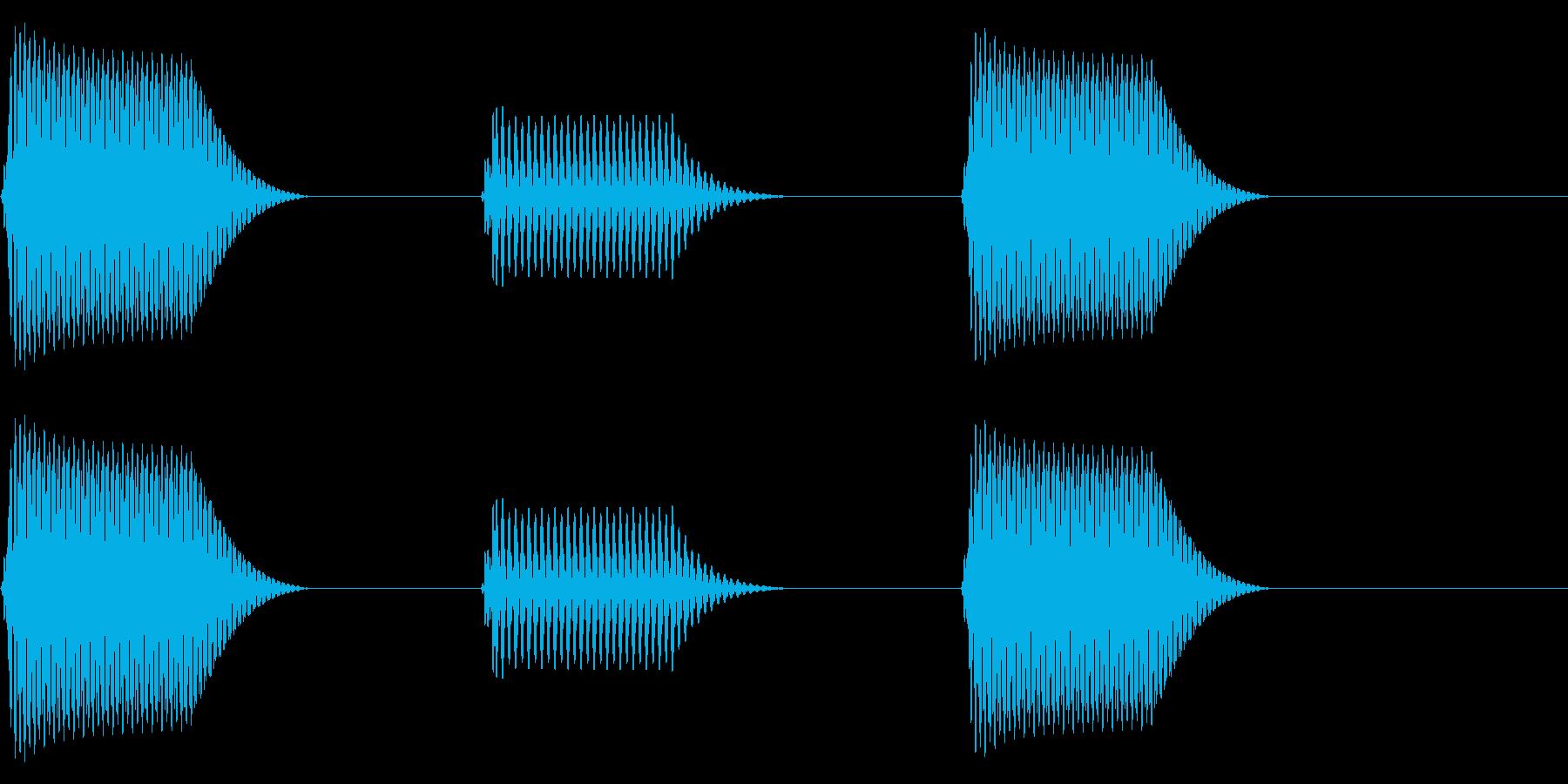 往年のRPG風 コマンド音 シリーズ13の再生済みの波形