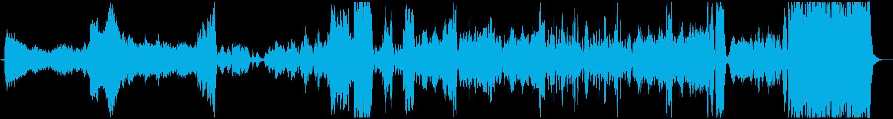 宇宙遊泳を楽しめる『美しく青きドナウ』の再生済みの波形