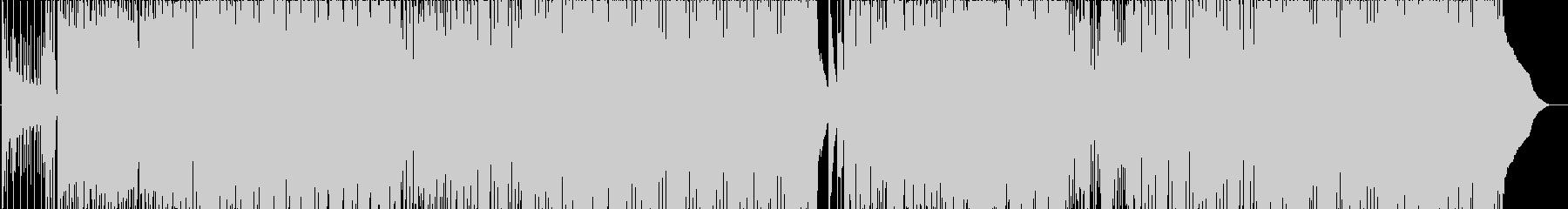 カルチャークラブの未再生の波形