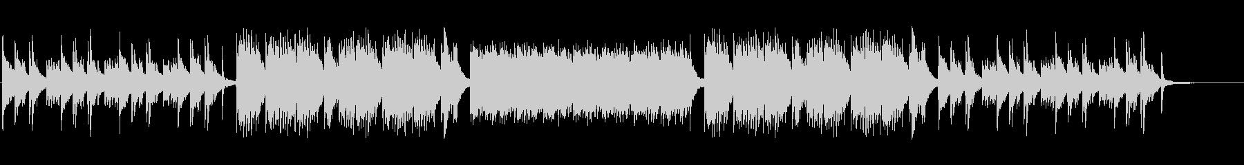 企業・CM・キラキラしたピアノソロの未再生の波形