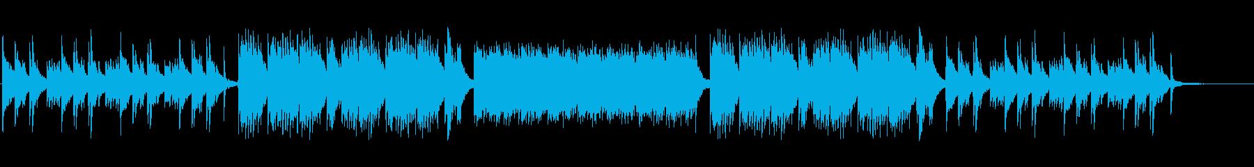 企業・CM・キラキラしたピアノソロの再生済みの波形