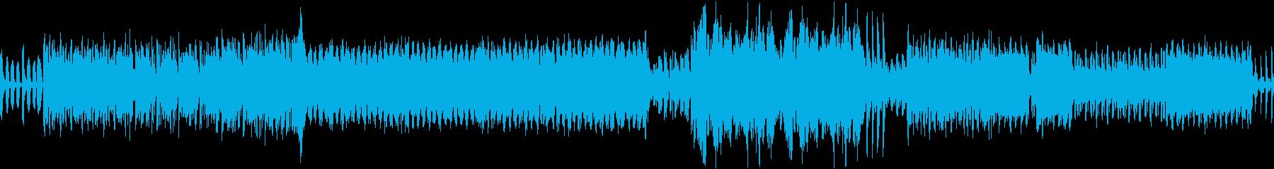 突入用のドキドキ・ハラハラ・一気のロックの再生済みの波形