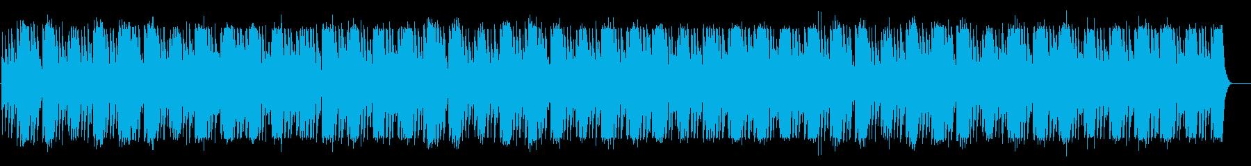 小雨の憂鬱・オルゴール・ベル系BGMの再生済みの波形