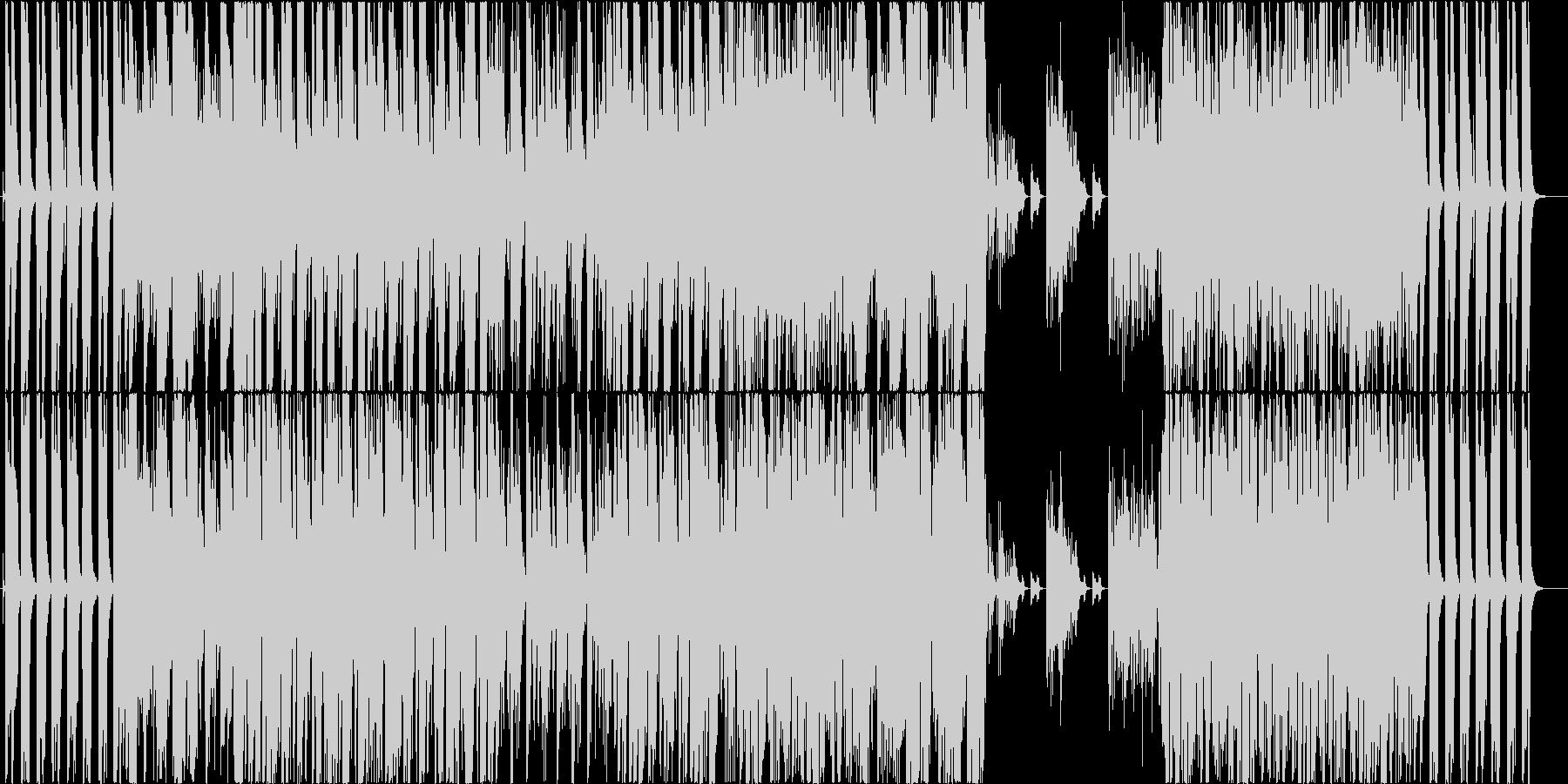切ない哀愁のジャズセッションの未再生の波形