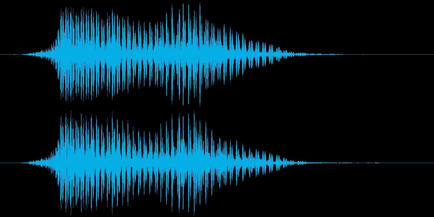 ハロウィン (モンスターボイス)の再生済みの波形