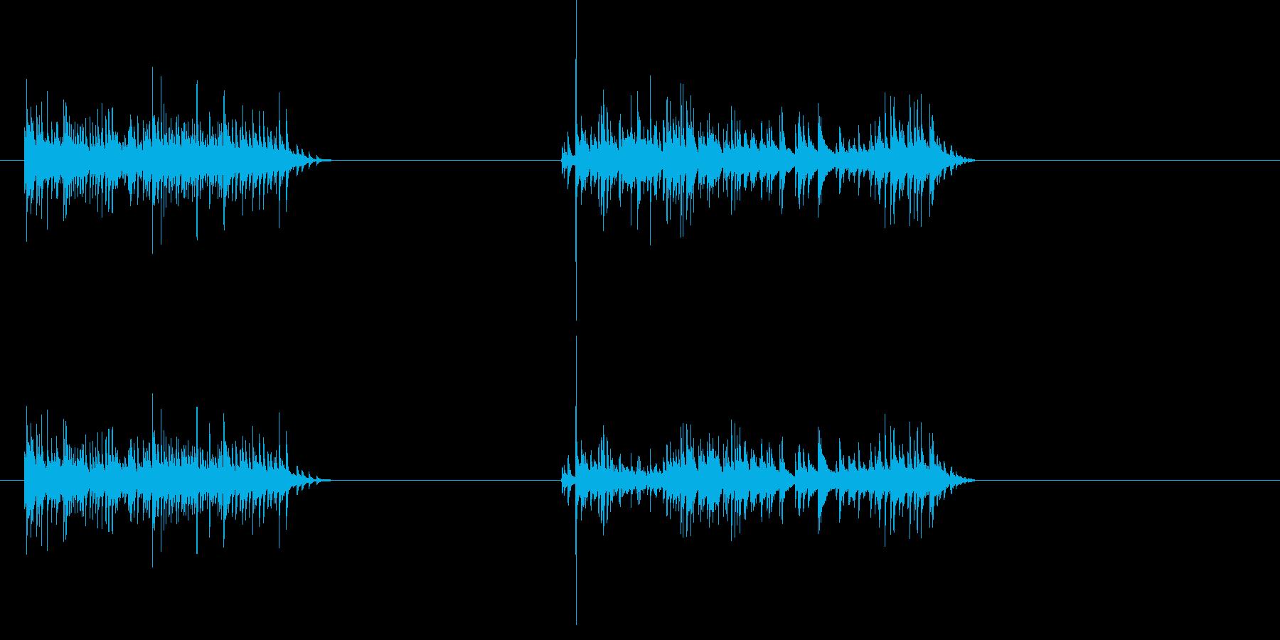 ラトルインキャン-2エフェクト;缶...の再生済みの波形