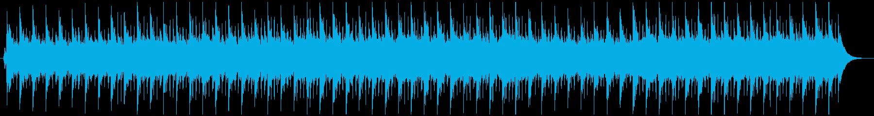ソフトで穏やか/優しい/上品なゆったり曲の再生済みの波形