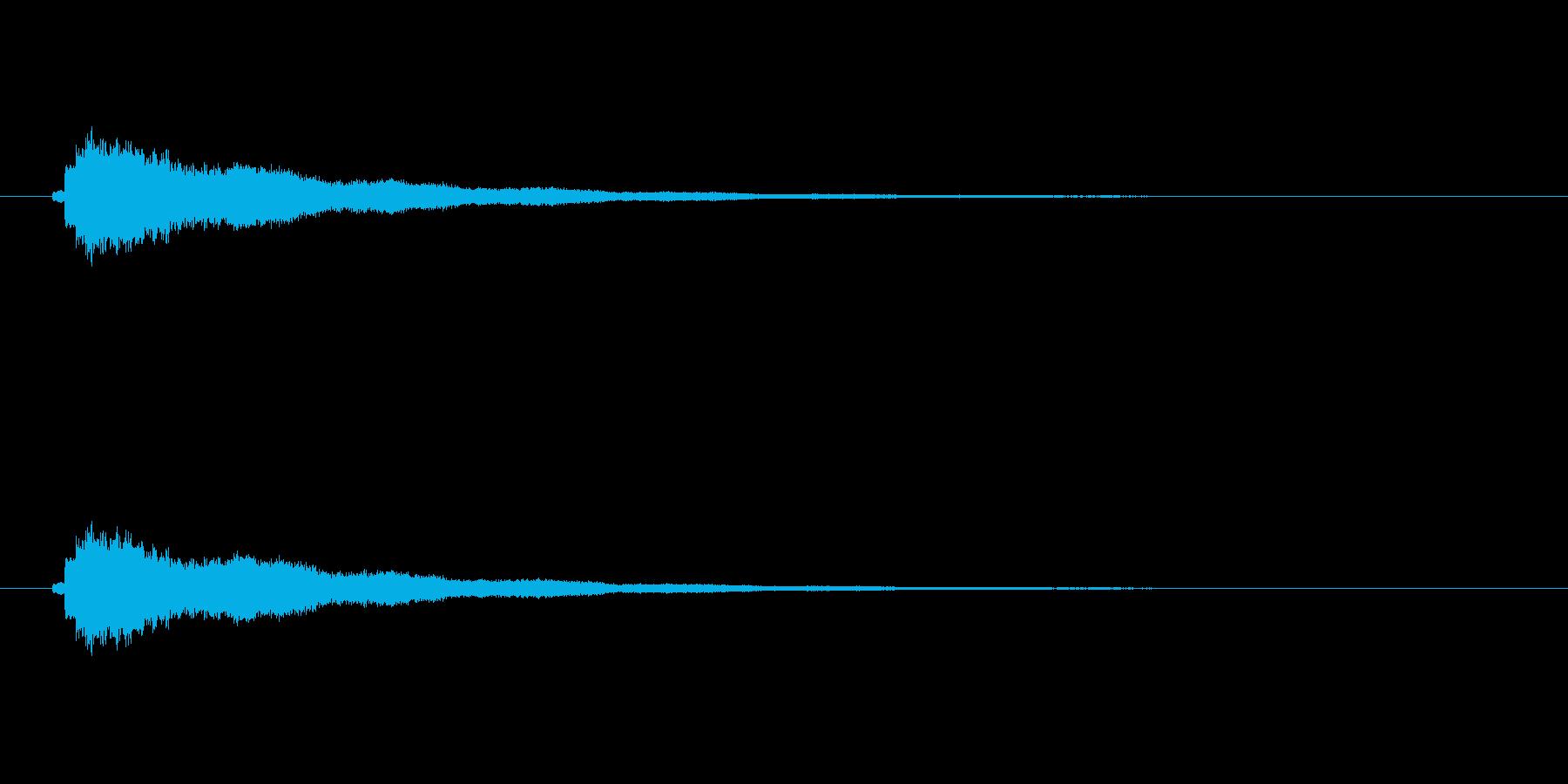 【ショートブリッジ20-2】の再生済みの波形
