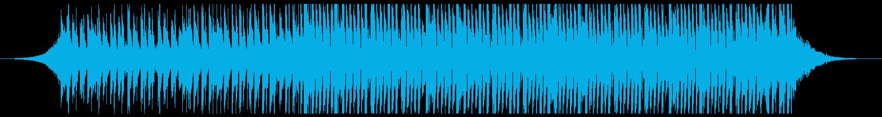 高揚ポップの再生済みの波形