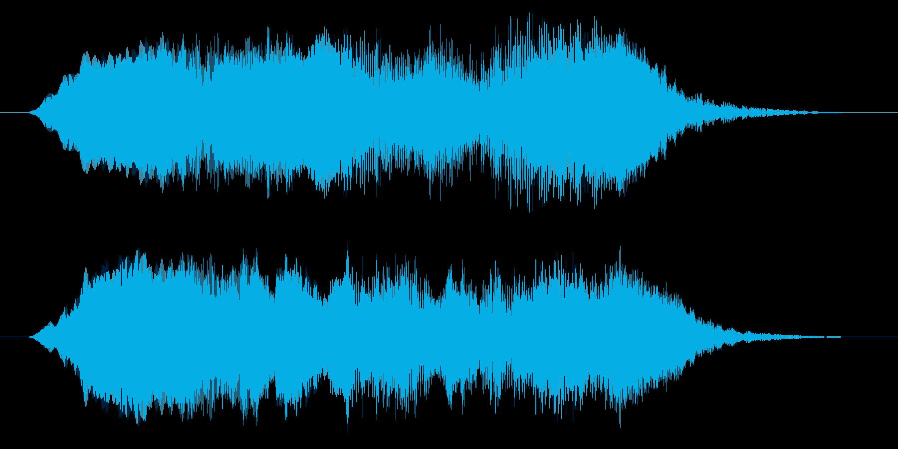 ホラー効果音 違和感 異変 不思議 奇妙の再生済みの波形