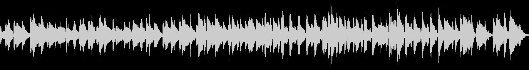 おしゃれなバーをイメージしたピアノジャズの未再生の波形