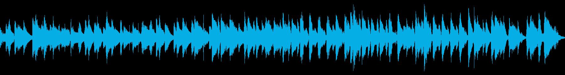 おしゃれなバーをイメージしたピアノジャズの再生済みの波形