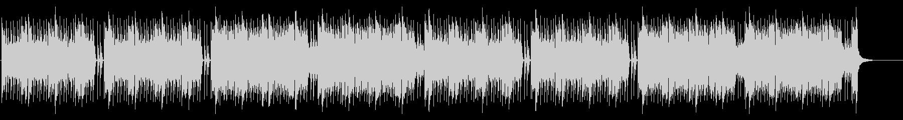 緊張感のあるEDM調バトル曲(長めの未再生の波形