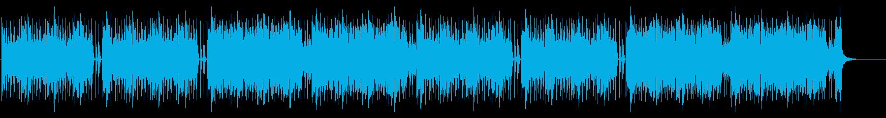 緊張感のあるEDM調バトル曲(長めの再生済みの波形