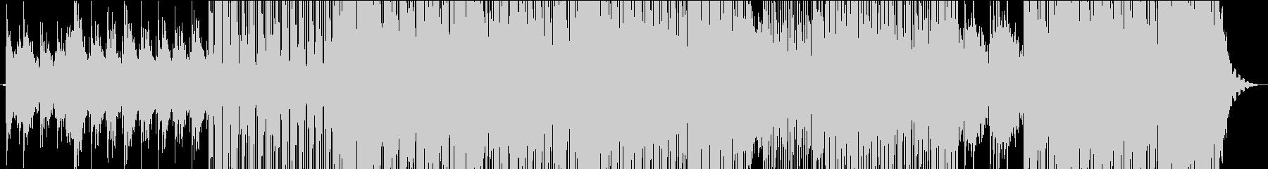 琴のメロディがエスニックな楽曲/メロ無しの未再生の波形