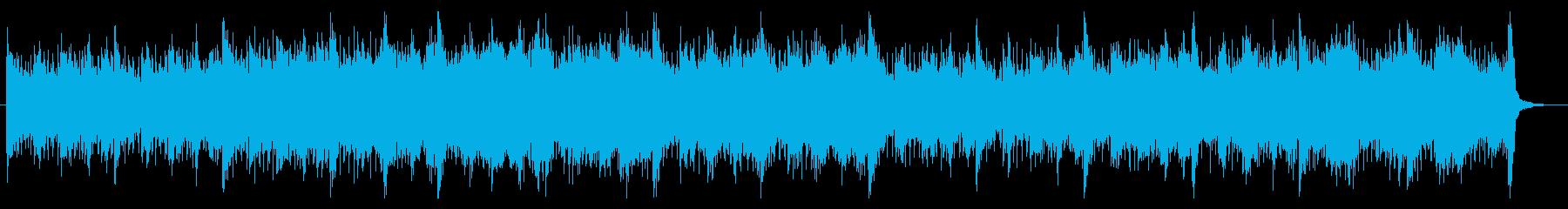 オーケストラのさわやかなオープニングの再生済みの波形