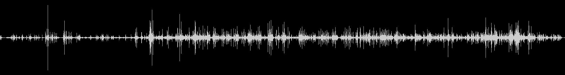 トラックピックアップベッド金属ガラガラcの未再生の波形