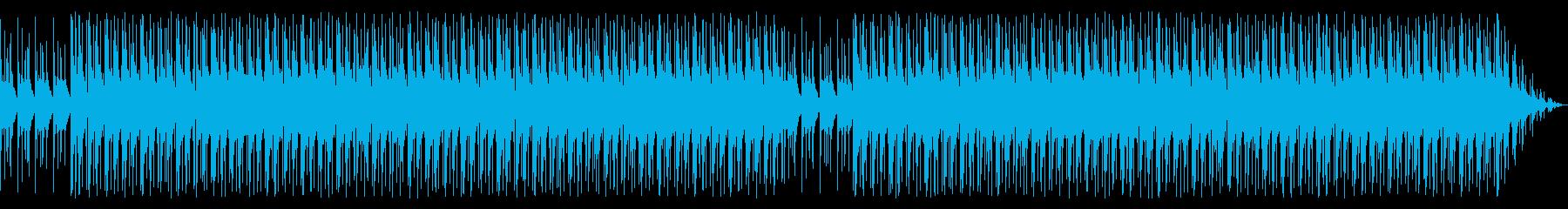 ミニマルでほのぼのとしたBGMの再生済みの波形