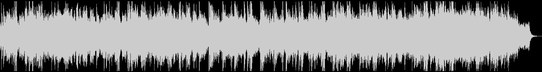 ビフォーアフター風/感動的なピアノの未再生の波形