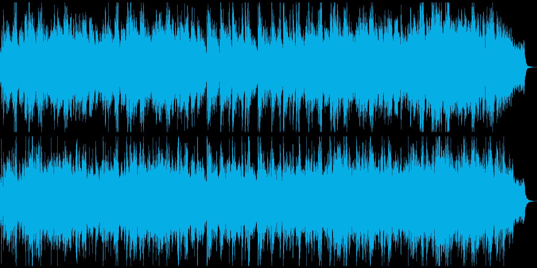 ビフォーアフター風/感動的なピアノの再生済みの波形