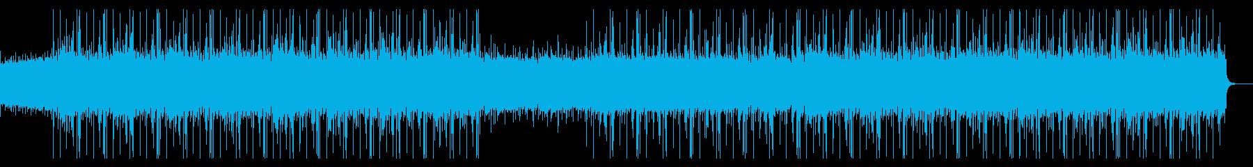 暖かい クリスマス ローファイビートの再生済みの波形