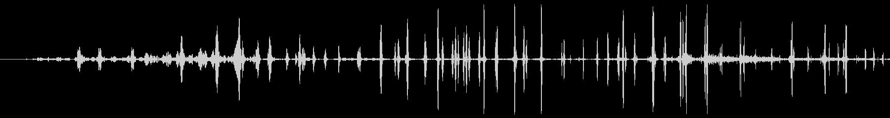 ソフト静的遷移の未再生の波形
