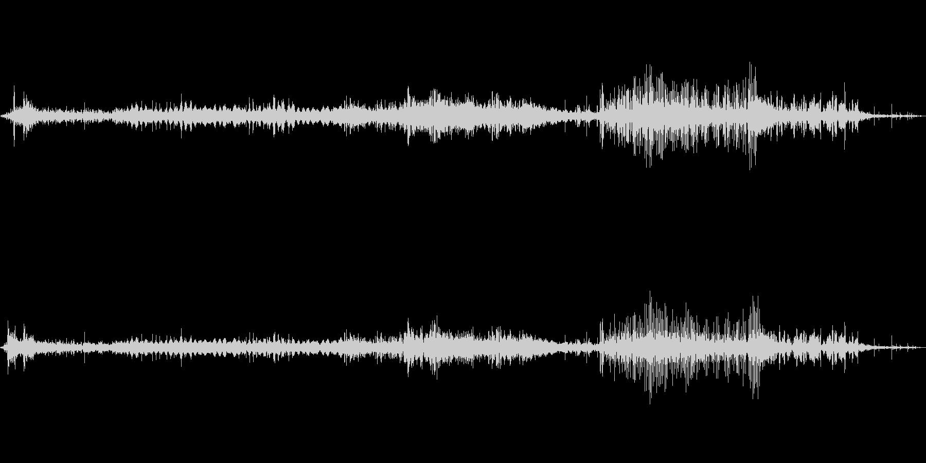 不眠症ミュージカルパルサーの未再生の波形