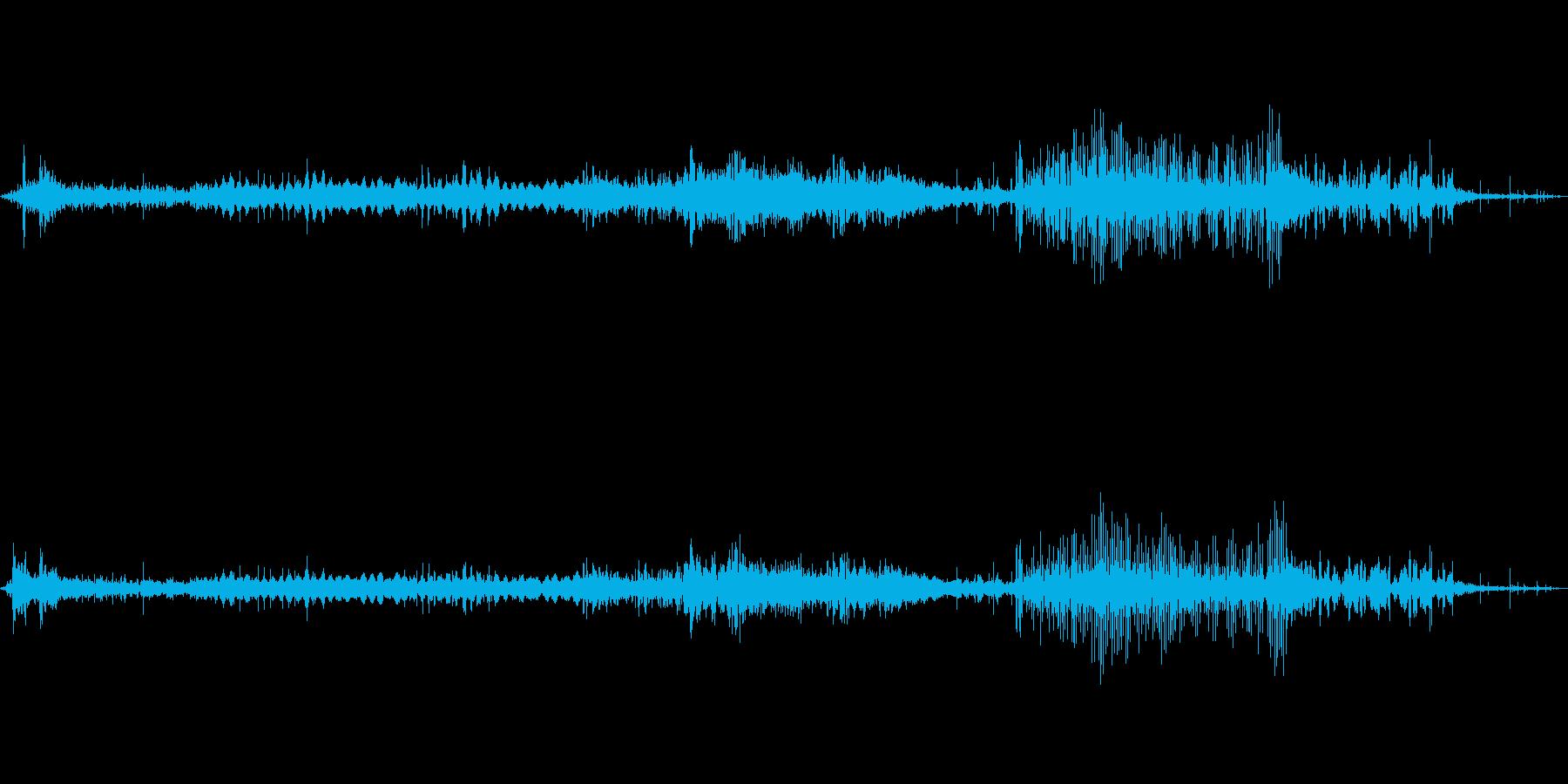 不眠症ミュージカルパルサーの再生済みの波形