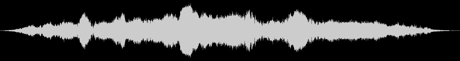 ヴィオラ:弦楽器全体の調和の未再生の波形
