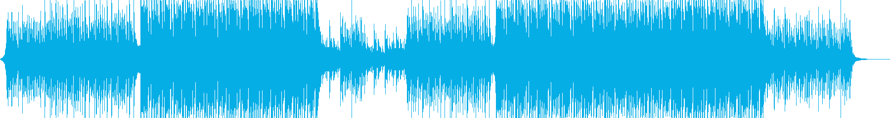 A refreshing and positive corporate BGM's reproduced waveform