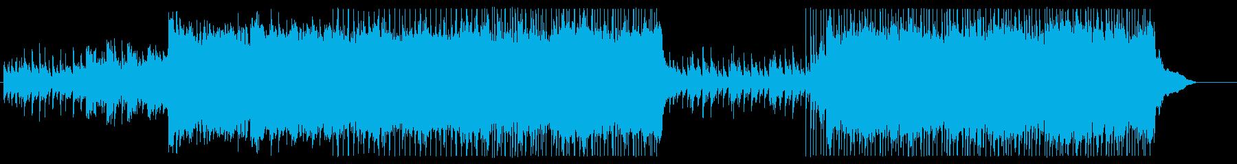 ゆったり落ち着きのあるギターポップの再生済みの波形