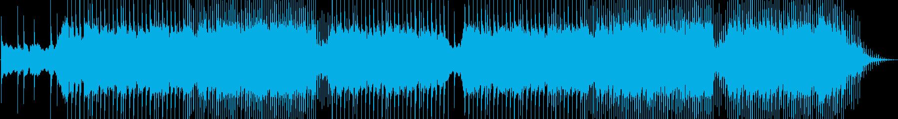 オシャレでカッコイイEDMの再生済みの波形