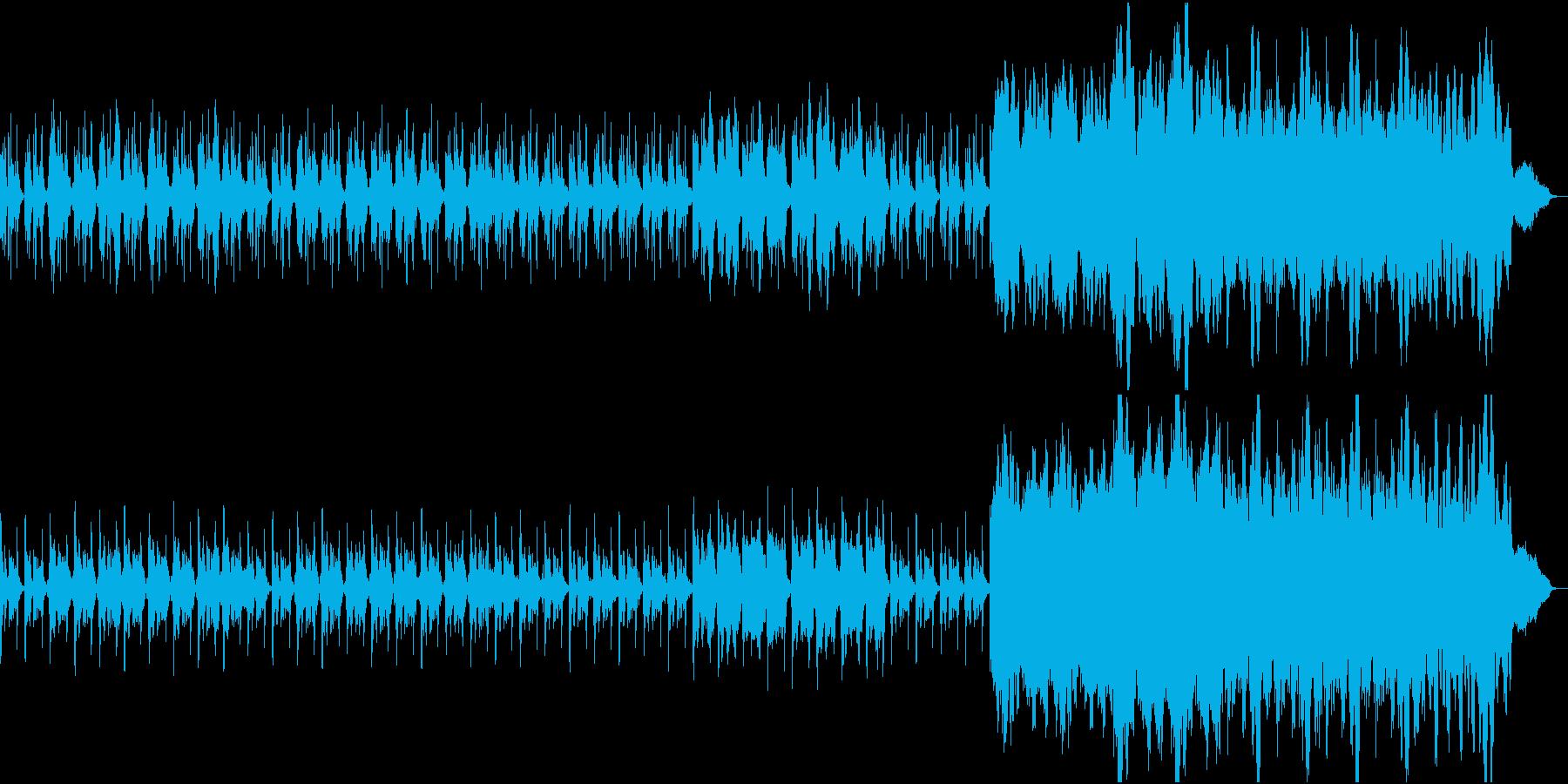 オーケストラ ファンタジー 夜 ループの再生済みの波形