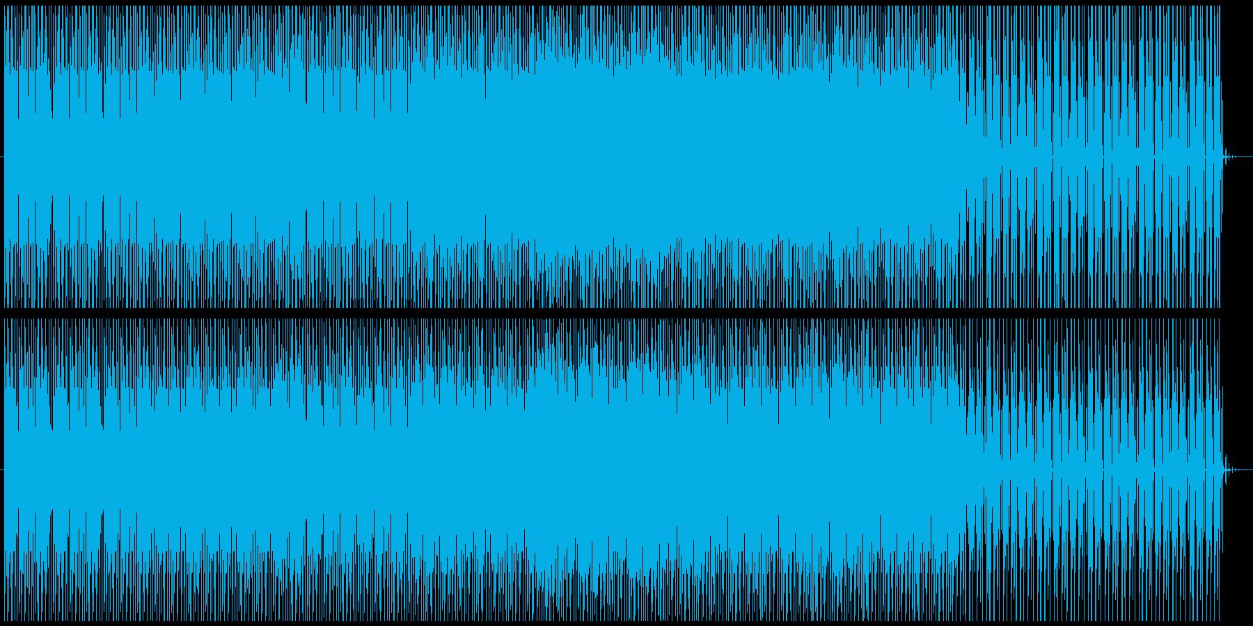 歯切れ良く刻むビートがかっこいいテクノの再生済みの波形