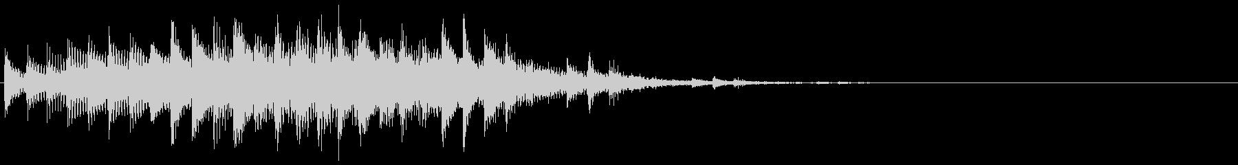 ビロリキャリ…(デジタル・アイキャッチ)の未再生の波形