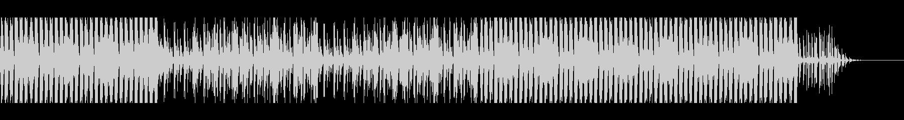 カッティングギターファンクBGMの未再生の波形