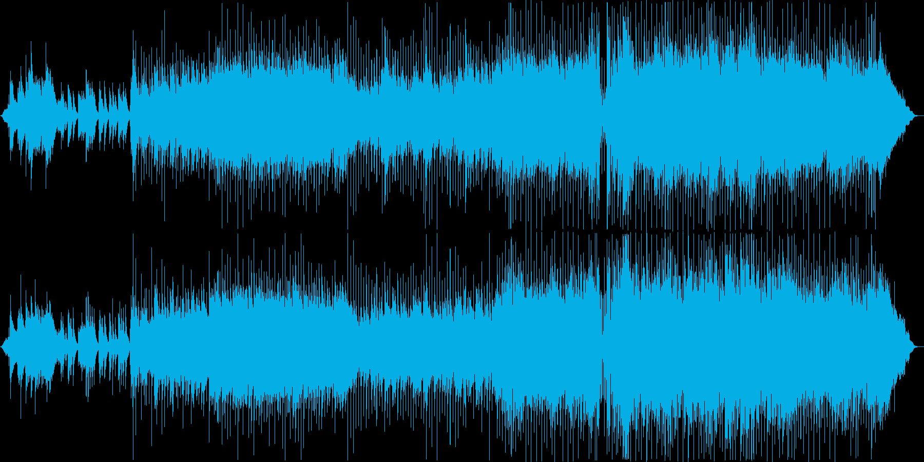 ウェディング・ラブ・ロマンスなバラードの再生済みの波形