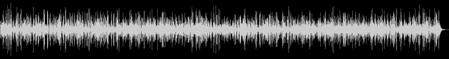 ジャズ|しっとりお洒落なジャズバーBGMの未再生の波形