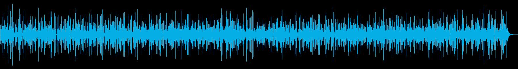 ジャズ|しっとりお洒落なジャズバーBGMの再生済みの波形