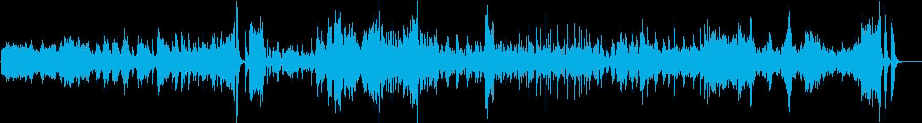 ベートーヴェン/ヴァイオリンソナタ「春」の再生済みの波形
