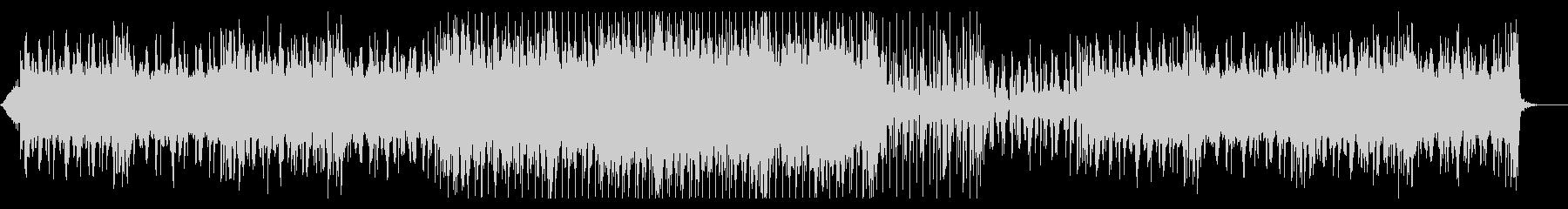 エスニックで神秘的なアンビエント風楽曲の未再生の波形