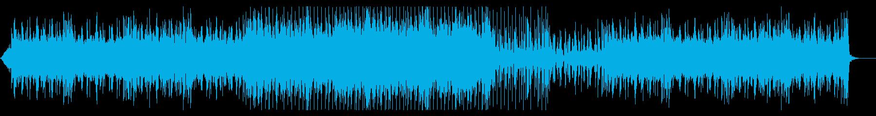 エスニックで神秘的なアンビエント風楽曲の再生済みの波形