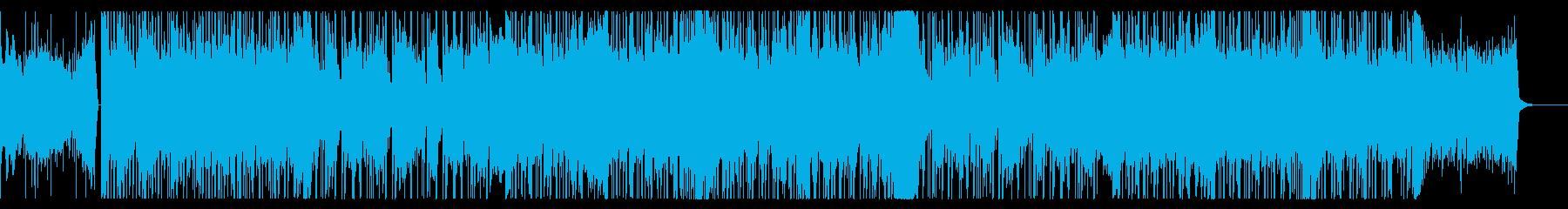 切ない冬の青空をイメージする曲の再生済みの波形