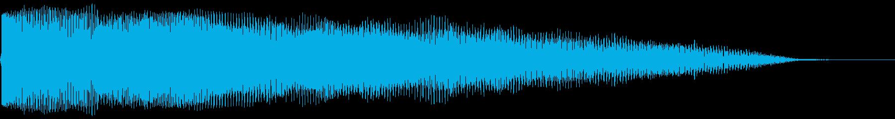 【インパクト】ダンッ!!_SF映画_02の再生済みの波形