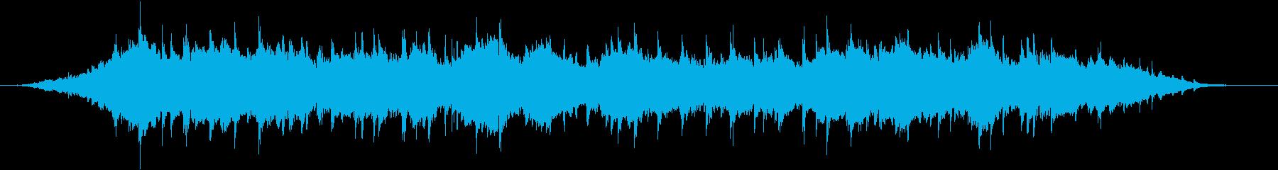 本物 サイレン 生録音 消防 鐘付 2台の再生済みの波形
