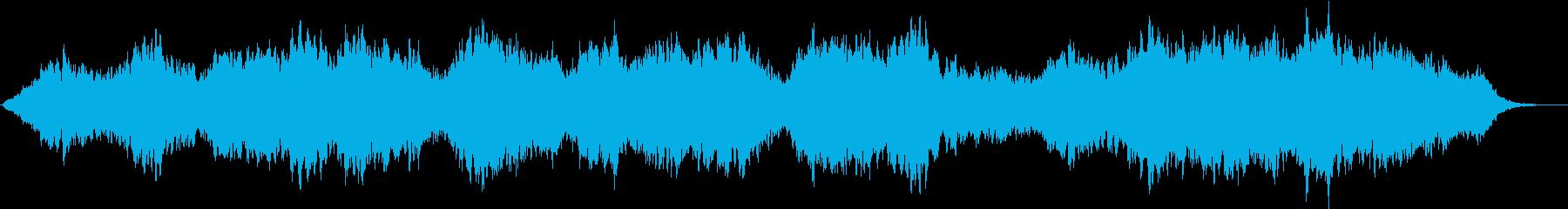 神秘的で落ち着いたアンビエント 1の再生済みの波形