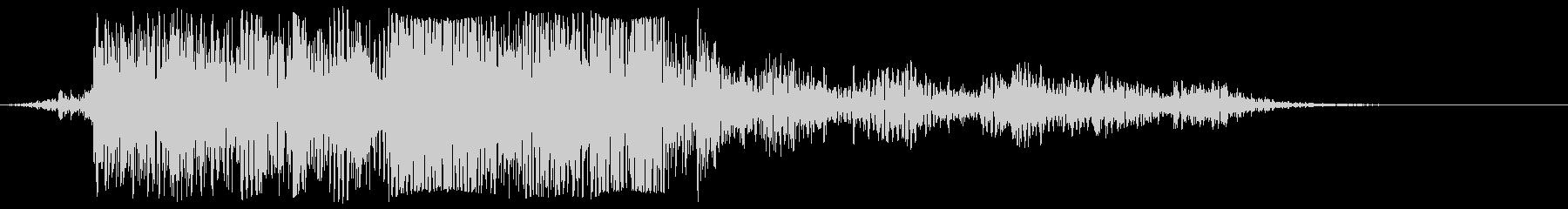 ラティリーメタルトレイスピン、フォリーの未再生の波形