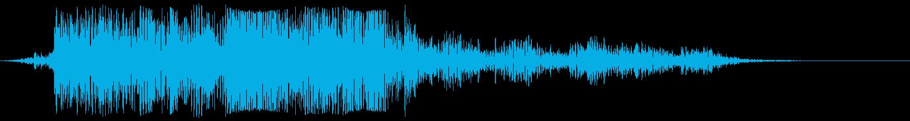 ラティリーメタルトレイスピン、フォリーの再生済みの波形